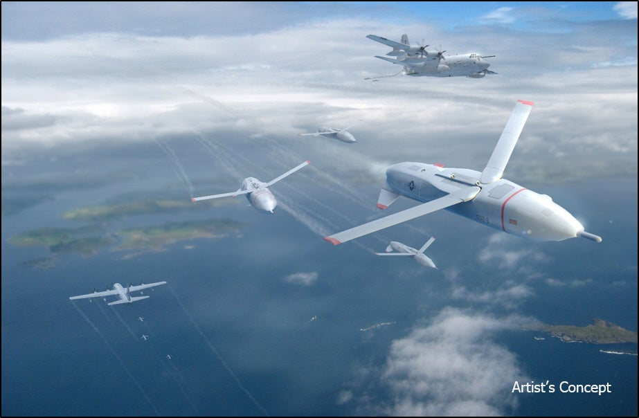 Air Force Wants Swarms Of Small Kamikaze Drones To Defeat Missiles