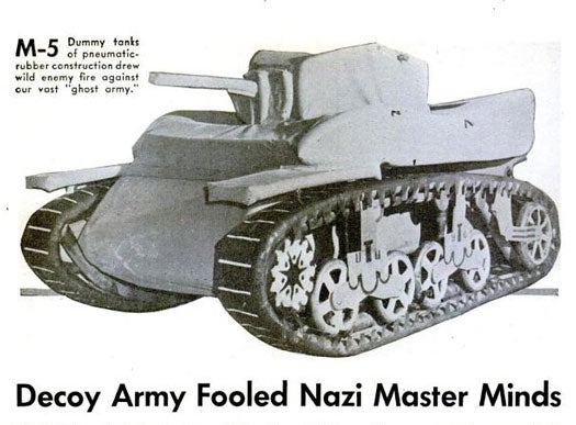 Decoy Army Fooled Nazi Master Minds: February 1946
