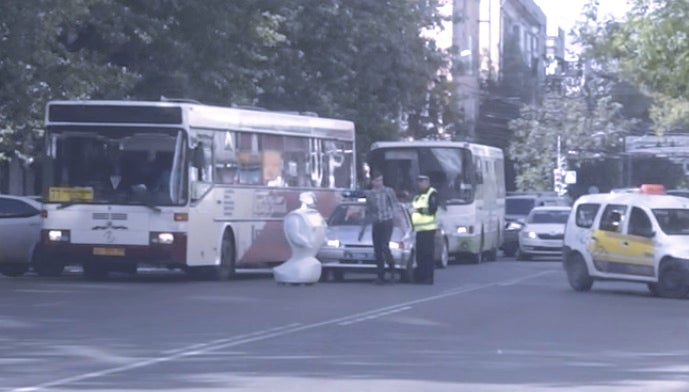 Russian Robot Escapes Laboratory, Wanders Into Street