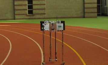 Cornell's Ranger Robot Power-Walks into the Record Books With 14.3-Mile Stroll