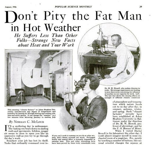 Climate Factory: August 1926