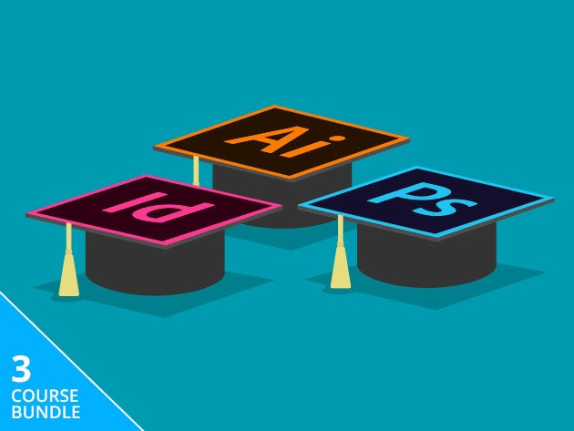 Get certified In Adobe's essential graphic design tools for under $40