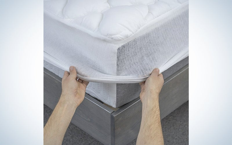 eLuxury mattress pad