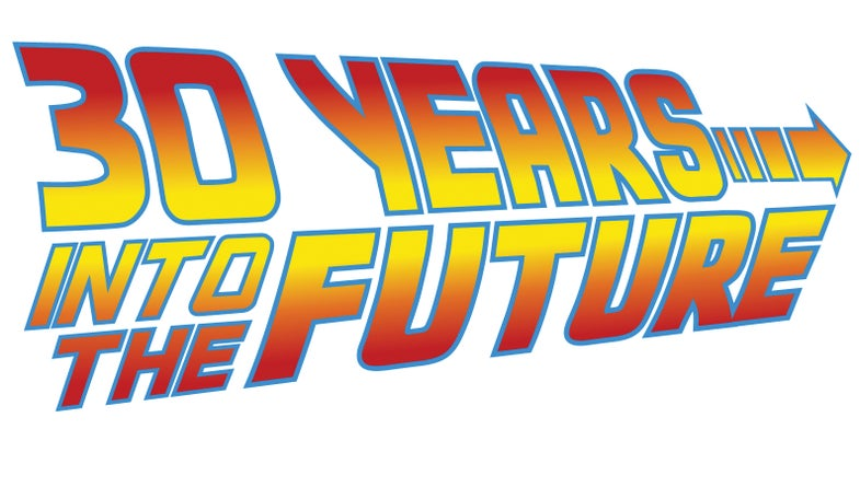 """DARPA Graphic, reads """"30 Years Into The Future"""""""