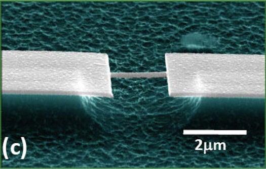 First Ever Nanoscale Mass Spectrometer