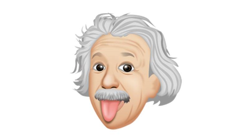 Albert Einstein Now Has His Own Emoji Keyboard