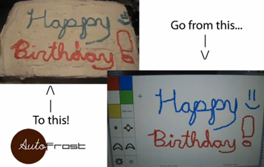 Video: Student-Built CakeBot Recreates MS-Paint-Like Drawings in Frosting