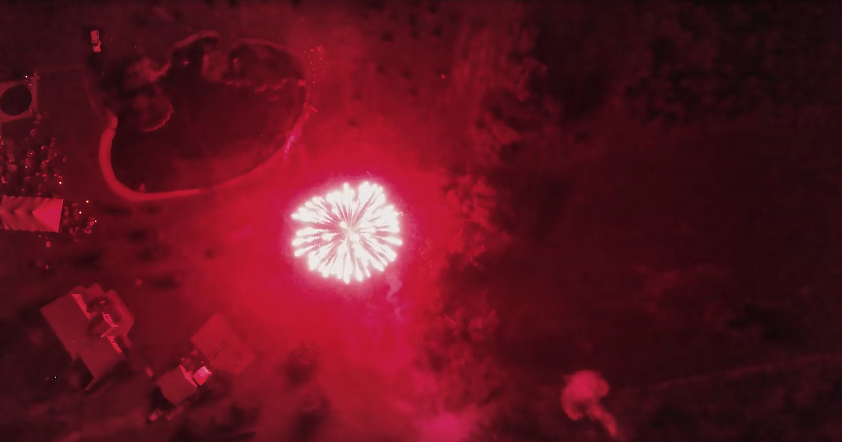 Watch Fireworks From A Drone's-Eye View