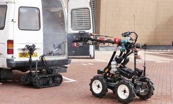 Gallery: London's Firefighting Robots
