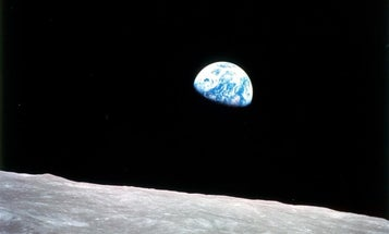 Vintage Pics: Early 20th-Century Artists Imagine 'Earthrise' From Mars
