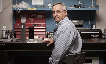 Robert Afzal is developing powerful laser blasters for the U.S. military