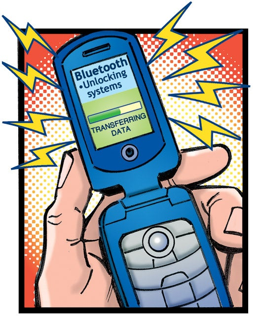 comic book flip phone