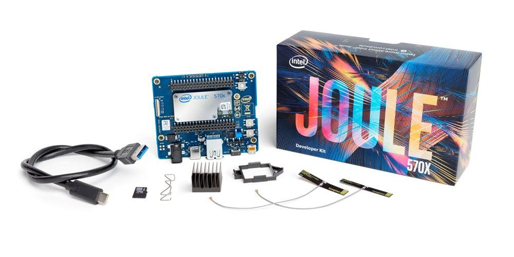 Intel's new Joule maker board.