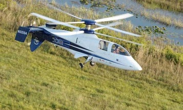 Sikorsky's X2 Prototype Breaks Rotorcraft Speed Record With 258 MPH Flight