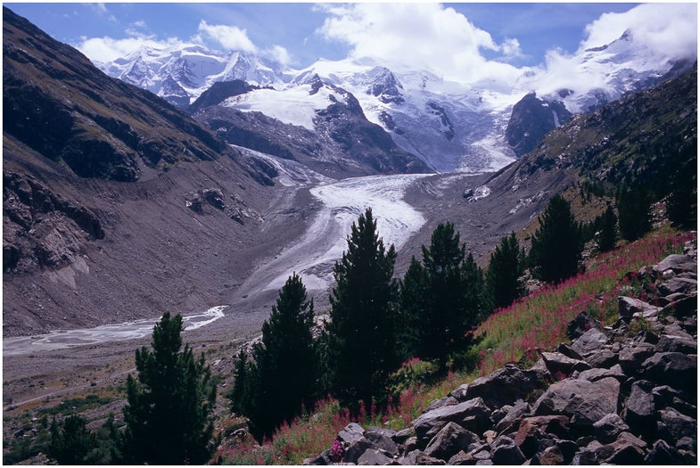 Artificial snow might save a glacier in the Swiss Alps