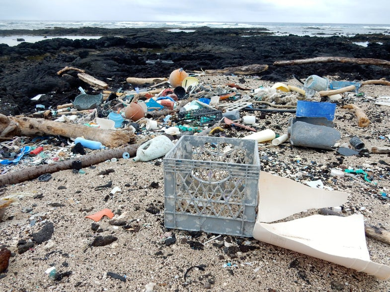 Plastic junk spews greenhouse gases, just like cows and cars
