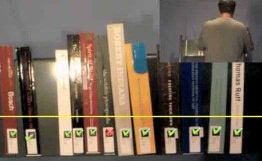 Video: Augmented Reality App For Librarians Instantly Shows Which Books Are Misfiled