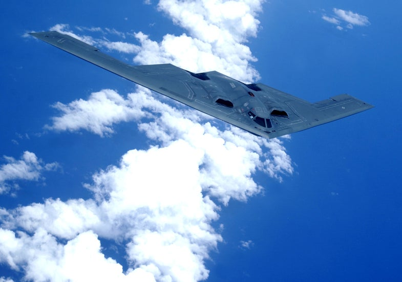 Watch A B-2 Bomber Refuel And Return To Stealth Mode [Video]