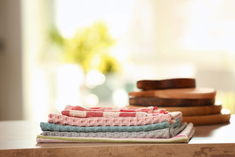 Your kitchen towels are probably gross, but so is your whole life
