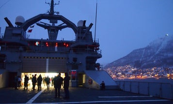 Arctic Report: Inside An Icebreaker Ship