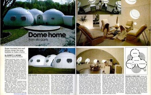 Bonus: Dome Home from Silo Parts, March 1982
