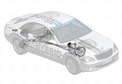 Mercedes-Benz Reveals Vision S 500 Plug-In Hybrid Concept