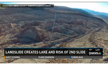 Colorado Mud Slide's Next Moves Are A Mystery, Say Geologists