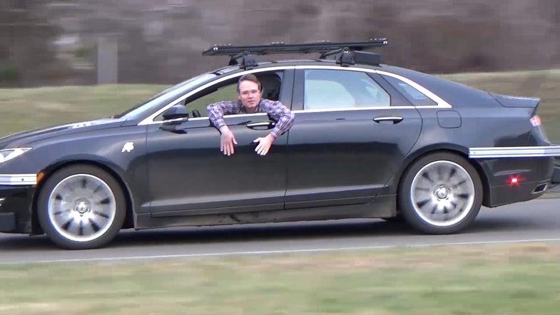 Watch Nvidia's Autonomous Car Drive Through Snow And Winding Roads