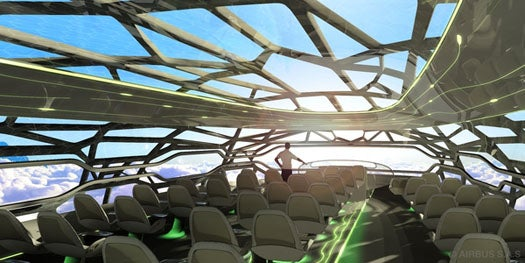 Video: Airbus Offers a Peek at the Translucent Future of Passenger Air Travel