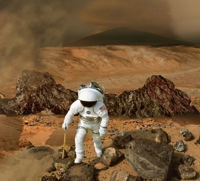Deep Space Travel Could Damage Astronauts' Brains