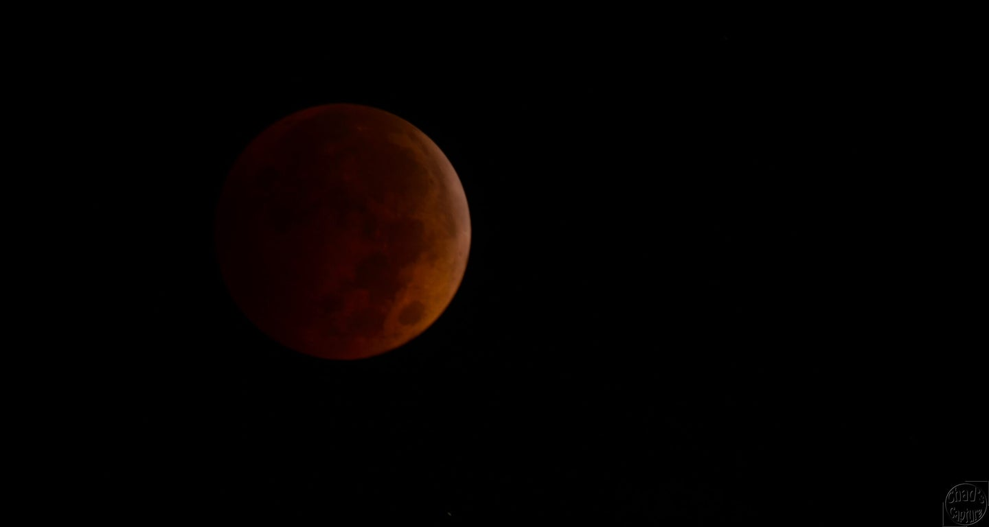 Watch This Morning's Eclipse Happen In One Minute