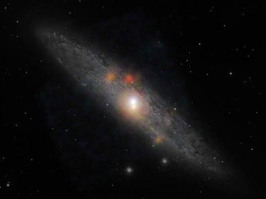 How A Black Hole Sleeps