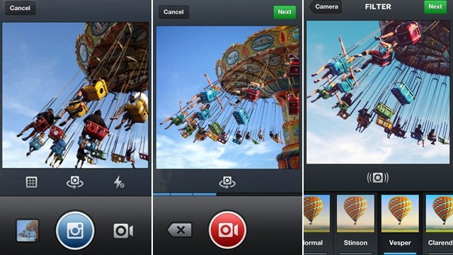 Instagram Now Takes Video