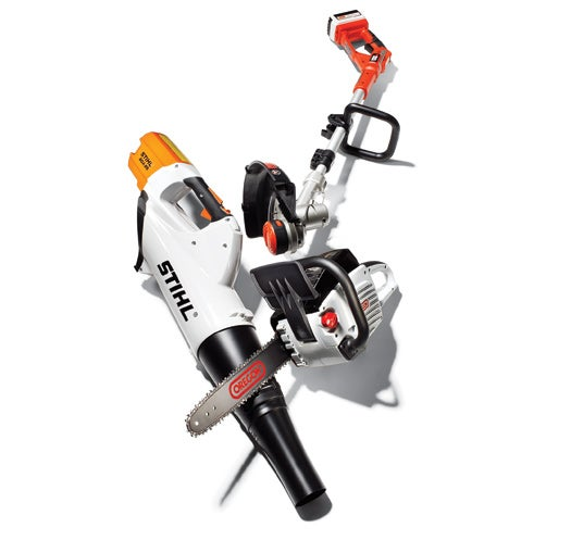 Big Batteries Give Electric Yard Tools the Power to Compete with Gas-Guzzlers