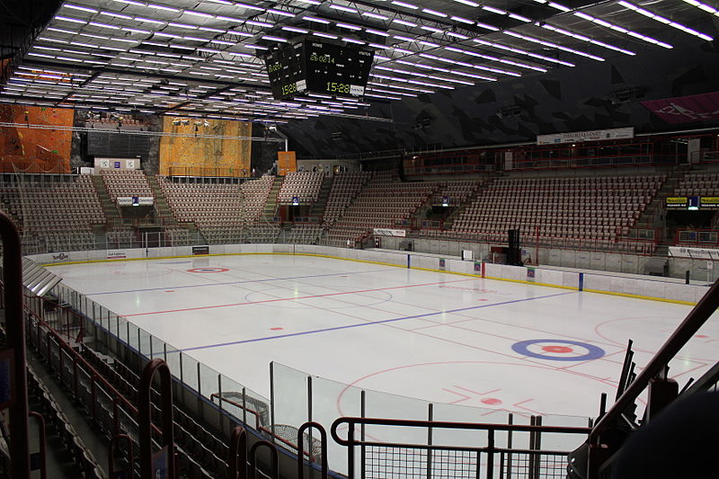 ## Gjøvik Olympic Cavern Hall from the 1994 Winter Olympics in Lillehammer, Norway