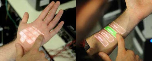 Skinput Turns Any Bodily Surface Into a Touch Interface