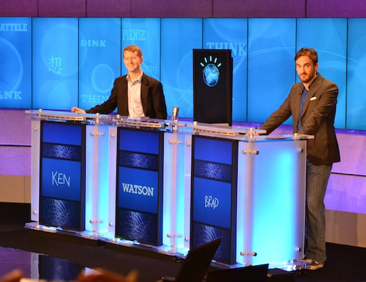 In Warmup Match, Jeopardy All-Stars Defeated By IBM's Supercomputer Watson