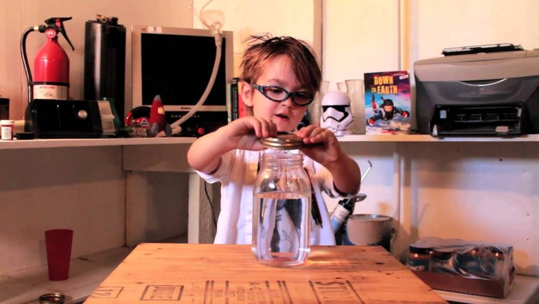 Watch This Mini-Scientist Teach You About Tornados In The Cutest Way Possible