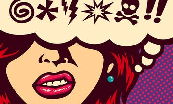 It's easier to convey anger in your second language