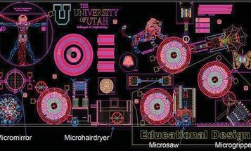Working Microbarbershop and Microchessboard Win Sandia Design Awards