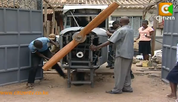Video: Kenyan Tinkerer Builds a Plane From Scratch, Aims to Fly Next Week