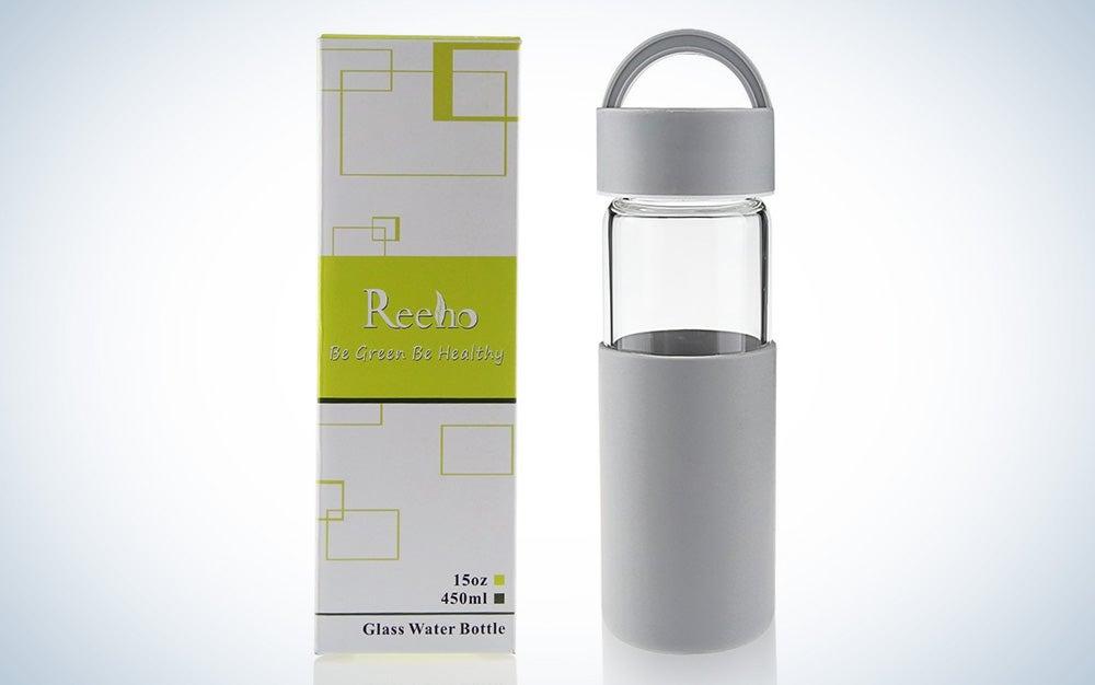 Reeho Glass Water Bottle