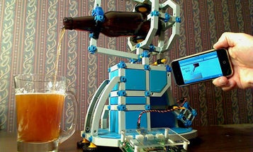 An Automatic Beer Pourer