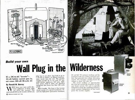 Wilderness Wall Plug: July 1965