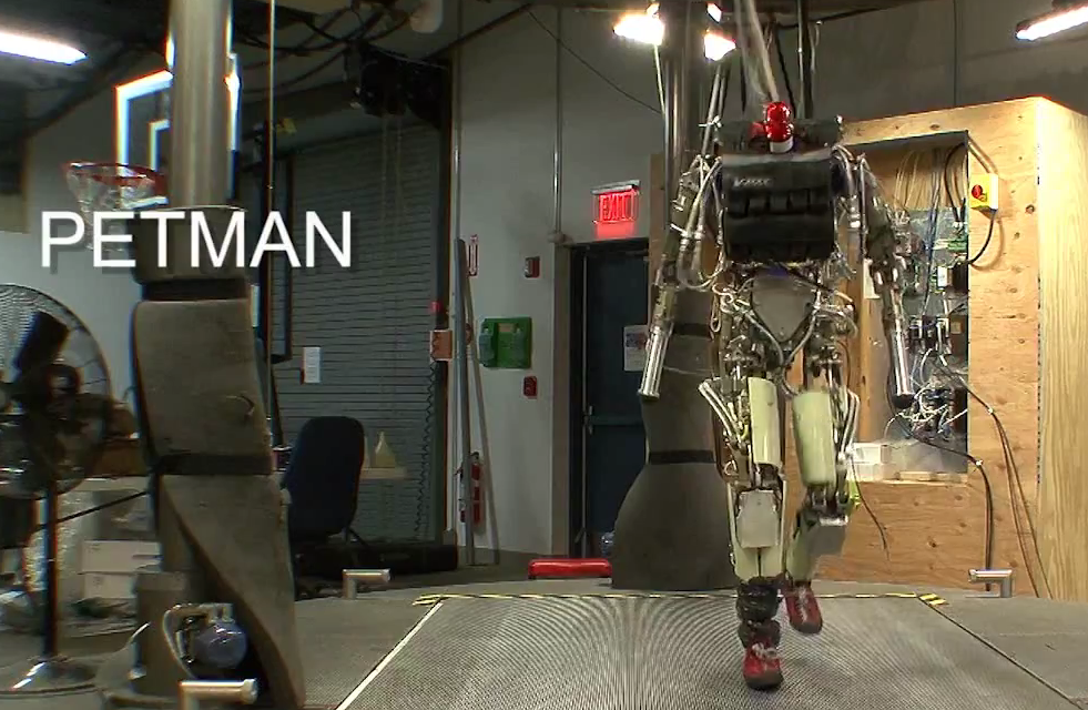 Video: DARPA's Updated Humanoid Hits the Treadmill, Climbs Stairs, Does Push-Ups
