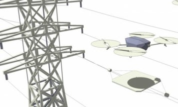 Tech Inspired By Nikola Tesla Charges Drones In Mid-Air