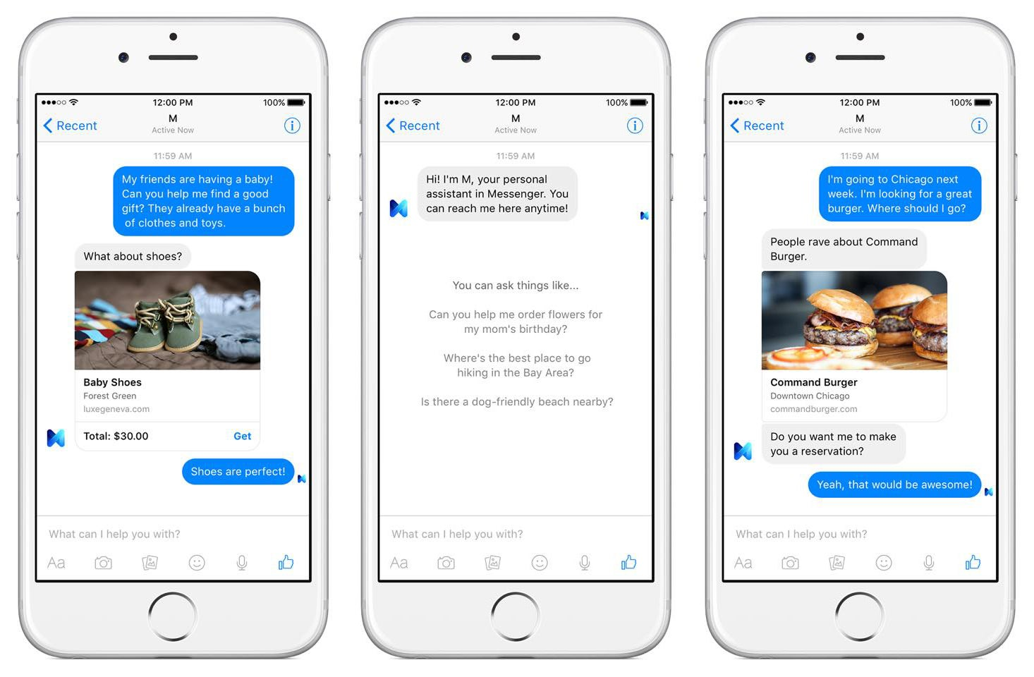 Facebook's New Personal Assistant, M, Is a Mix Of Man And Machine