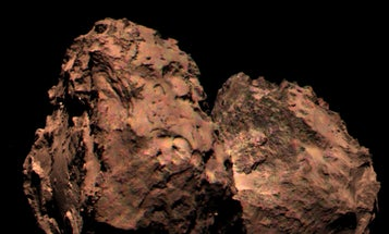 Here's What The Rubber Ducky Comet Really Looks Like