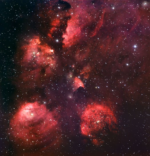 A New Image of the Cat's Paw Nebula, Star Nursery to the Milky Way