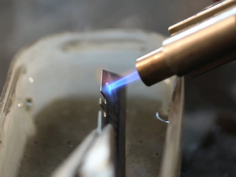 How To Drill Through Steel [Video]